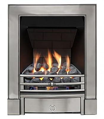 Sandhurst Slimline Radiant Gas Fire - Polished Cast - P