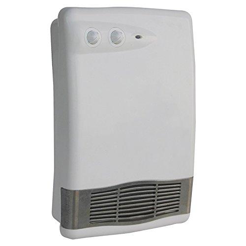 Bahia HotVent Badezimmer-Schnellheizkörper - mit Thermostat, klein und leistungsstark