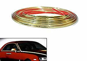 Speedwav 10mm Side Window Stylish Golden Beading Roll 10 meter-Hyundai Creta