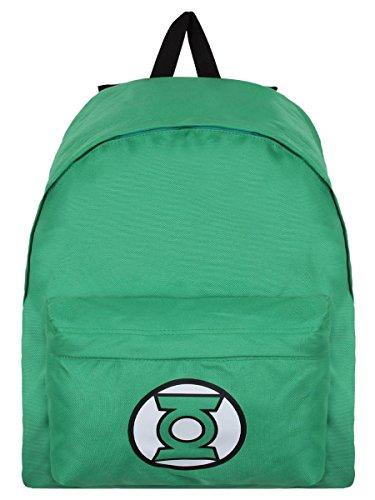 Green Lantern Lanterna Verde Zaino Zainetto Backpack Logo Half Moon Bay