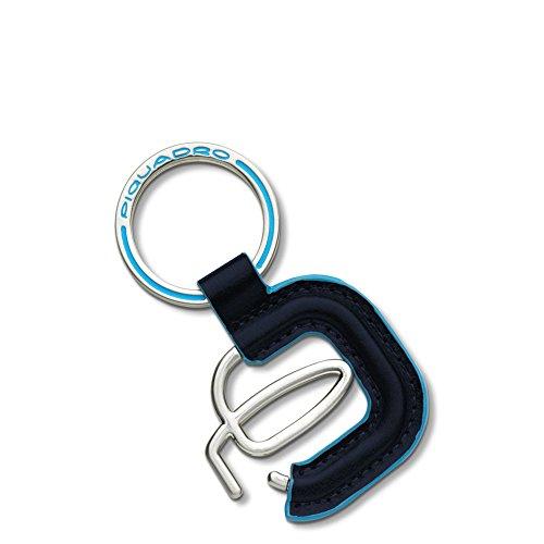 Piquadro PC2848B2 Portachiavi, Collezione Blu Square, Blu