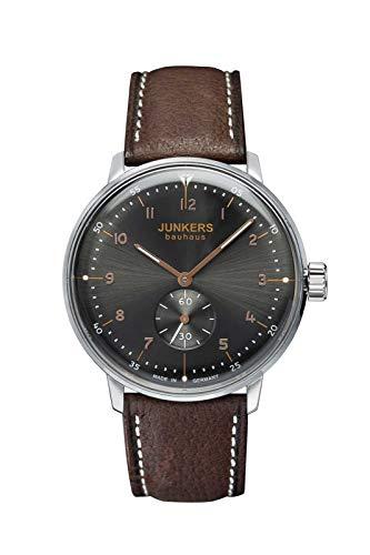 Junkers Bauhaus Handaufzug Herrenarmbanduhr 6030-2