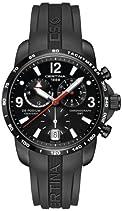 Certina Herren-Armbanduhr XL Chronograph Quarz Kautschuk C001.639.17.057.00