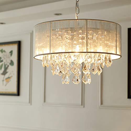 Saint mossi modern k9 cristallo goccia di pioggia lampadario illuminazione montaggio a filo led lampada da soffitto lampada a sospensione per sala da pranzo bagno camera da letto soggiorno