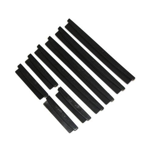 isremi (TM) Auto Tür Rand Wachen Zierleisten Schutz für Ford Focus Kuga Fiesta ECOSPORT Mondeo 3Farbe schwarz
