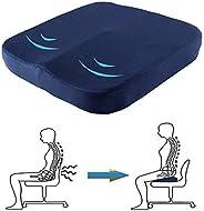 وسادة المقعد المتشكل على شكل بيضة من أجل المنزل أو المنزل أو السيارة أو المكتب أو كرسي المكتب