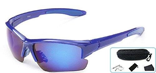Embryform Deportes Gafas de Sol de Ciclismo para Hombres Mujeres Gafas de Montar