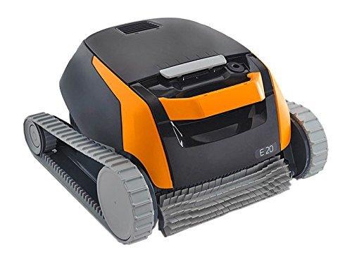 Dolphin E20-Robot de nettoyage électrique, Robot de piscine avec brosse PVC, piscine Robot de piscine pour tous les formes