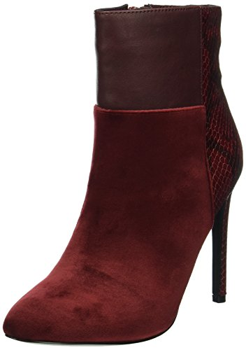 Another Pair of Shoes Damen Aliyahe3 Kurzschaft Stiefel Rot (Bordeaux34)