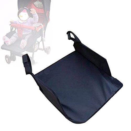 Keng Baby Buggy, Universal-Fußstütze, verlängerte Sitzfläche, Fußpedal, Kinder-/Babyschirm, Autozubehör, Länge 35 x Breite 35 cm