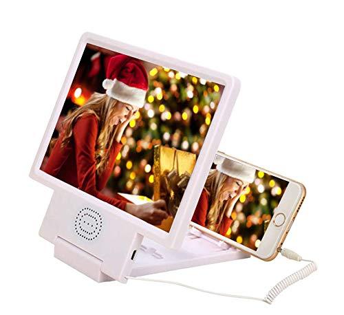 Video-Bildschirm-Vergrößerungsglas des Film-3D 8,5 Zoll 2-4X Handy-Bildschirm Smartphone-Vergrößerungsglas, Vergrößerungsbildschirm, schützen Augen-Handy-Verstärker mit Resonanzkörper Mobile Video-bildschirm