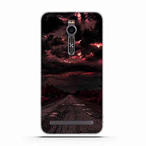 Asus Zenfone 2 ZE551ML Hülle, Fubaoda Schöne & romantische Landschaft Serie TPU Case Schutzhülle Silikon Case für Asus Zenfone 2 ZE551ML