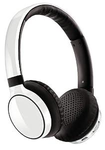 Philips SHB9100 White Casque Stereo Bluetooth.Nouveau coloris Blanc avec toujours sune qualité sonore sans fil exceptionnelle !Expérimentez la « la musique sans fil » grâce à ce casque avec haut-parleur acoustique, doté de l'amélioration sonore FullS...