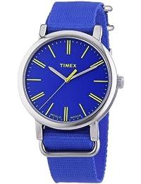 Timex Damen-Armbanduhr Originals Classic Round Analog Quarz Nylon T2P362