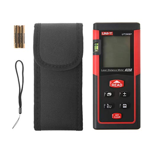 Exing Entfernungsmesser Distanzmessgerät,LD40 Digitales Laserentfernungsmessgerät 40m 131 Fuß Messen Sie den Diastimeter-Entfernungsmesser