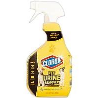 Clorox - Eliminador de orina de mascotas para manchas y olores, botella de spray, 24oz -709 ml