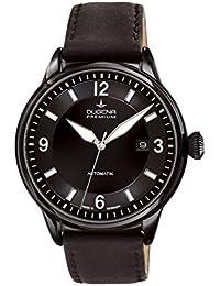 Dugena Mechanik Herren-Armbanduhr Kappa 1 Automatik Analog Automatik Leder 7000302