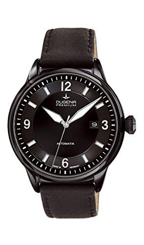 Dugena Gents Watch XL Analogue Automatic Leather Dugena Premium 7000302