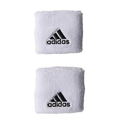 Adidas da uomo dieci WB S Wrist Band, white - black, Taglia unica