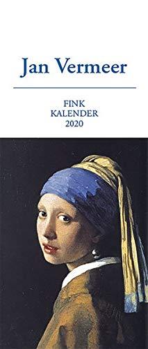 Jan Vermeer 2020: Kunst-Postkartenkalender (Vermeer-gemälde)