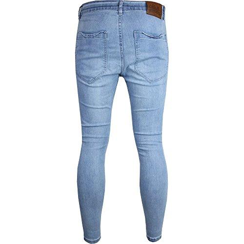 SikSilk - Jeans - Homme bleu bleu clair bleu clair