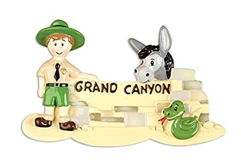 Personalisierte Weihnachtsschmuck travel-grand Canyon - WE CUSTOMIZE for you
