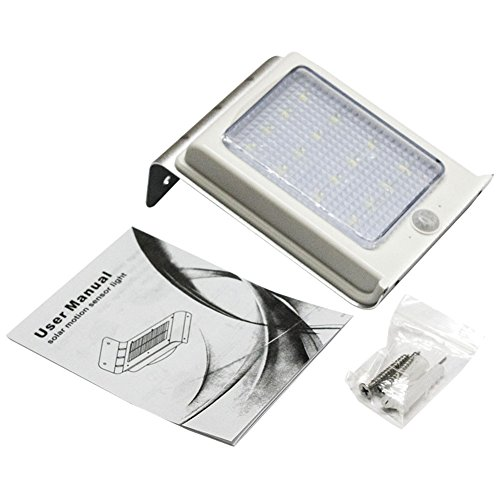 Solar Power Motion Sensor Light 16LED Garten-Sicherheit im Wasserdicht Lampe -