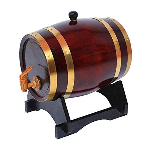 Other 1.5L Oak/Timber/Wooden/Wine Barrel Beer Whiskey Rum Brewing Port Kegs