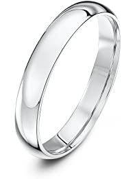 Theia Palladium 500, Heavy Weight, Court Shape Wedding Ring