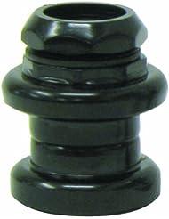 ETC - 24 TPI-Casque-Acier-Noir-Dimensions :  22,2 x 30 x 27 mm