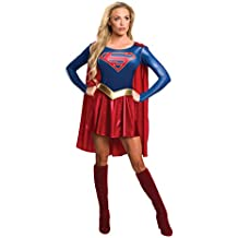 Rubie's Official Ladies Supergirl (TV Series) Adult Costume Lady : LARGE