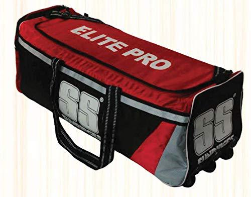 S+S SS Elite Pro Cricket-Tasche, volle Größe, rot