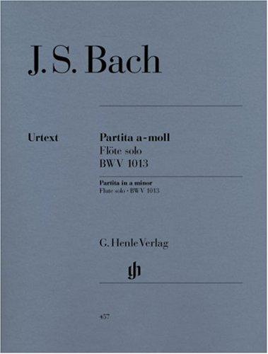 Partita BWV1013 la min. - Flûte solo