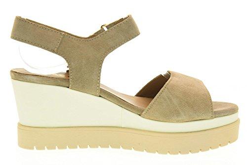 IGI&CO Sandalen Frauen Schuhe mit Keil 78662/00 Beige