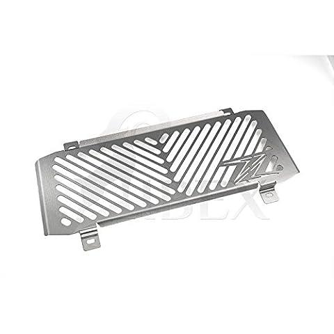 KAWASAKI Z 650Z650Bj 2017Kühlerabdeckung Eau Refroidisseur Refroidisseur à barbecue grille de protection Ventilateur Refroidisseur Refroidisseur Grille de protection Revêtement Logo