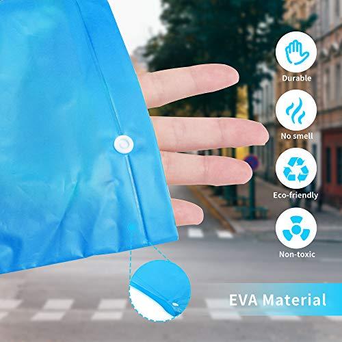 Zoom IMG-2 homful impermeabile portatile riutilizzabile e