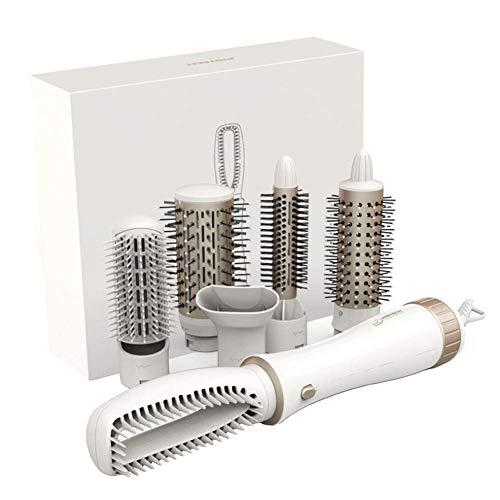 Juego de cepillos para rizar, rizador de cabello Juego de rizadores para el cabello Secador de cabello...