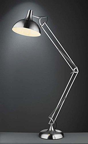 Casa Nova Beleuchtung Innenbeleuchtung Stehleuchte Standleuchte MAURICE nickel E27 60 Watt 1-flammig