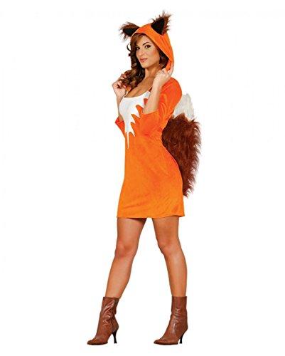 Horror Kleid - Horror-Shop Sexy Fuchs Faschingskostüm für Frauen