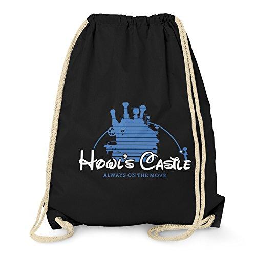 TEXLAB - Howl's Castle - Turnbeutel, (Ins Reise Zauberland Chihiros Chihiro Kostüm)