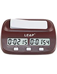 CaLeQi Digitale Multifunktions -Display Schachuhr Count Up Down Timer elektronische Brettspiel -Wettbewerb Clock(Mit Branded Gift Box)
