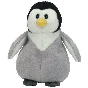 Ty Beanie Baby ~ Slapshot der Pinguin klein 15cm (Kleine Ty Beanie Babys)