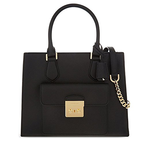 MICHAEL by Michael Kors Bridgette Medium Sac a Main Noir Noir