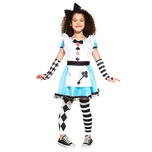 Amscan Alice Alice im Wunderland Kostüm Kinder Mädchen