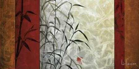 View from Huang Shan Von Li-Leger, Don Kunstdruck auf Leinwand - Klein (91 x 46 cms ) (Globale Ansichten Home Decor)
