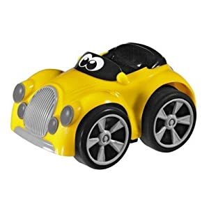 Chicco - Coche Turbo Touch Stunt Car, Henry McLoad, Color Amarillo