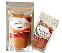 Iyer AATHU Combo_006- Sambar 250gm with Free Dosa Chutney Powder 100gm