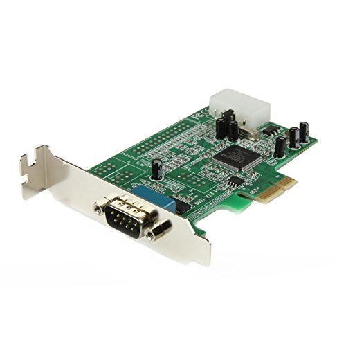StarTech.com 1 Port Low Profile Native RS232 PCI Express Serial Card with 16550 UART Test