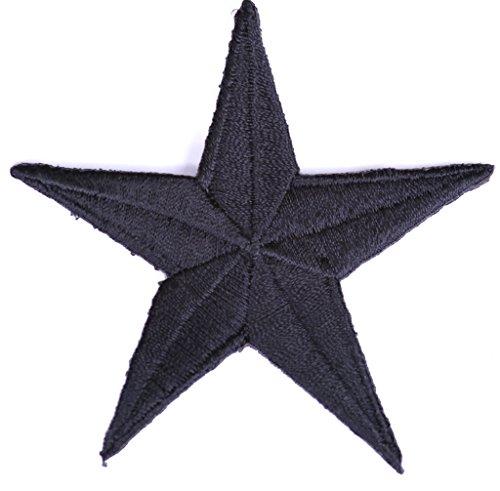 7,5 x 7,5 Aufnäher // Bügelbild Stern bunt Applikationen Patch Aufbügeln