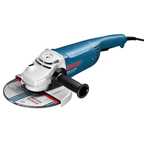 Preisvergleich Produktbild Bosch Professional GWS 22-230 H, 2.200 W Nennaufnahmeleistung, 6.500 min-1 Leerlaufdrehzahl, 230 mm Scheiben-Ø, Zusatzhandgriff, PROtection-Schalter